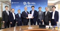 인천시교육청 본청 직원들, 어려운 이웃 위해 매월 기부금 전달
