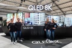 삼성전자, 유럽 최초 8K 위성 방송 시연···'초고화질 시대' 성큼
