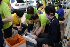 한림대동탄성심병원, 개원 6주년 '찾아가는 의료봉사활동'