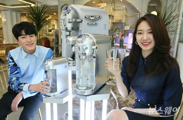 [NW포토]바디프랜드, 슈퍼모델 김수연이 선보이는 'W냉온정수기 브레인'