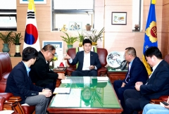 김원기 경기도의회 부의장, '중국 사천성 경제문화 교류 방문단' 접견
