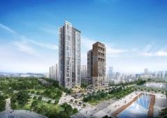 '동탄역 삼정그린코아 더베스트' 모델하우스  24일 개관
