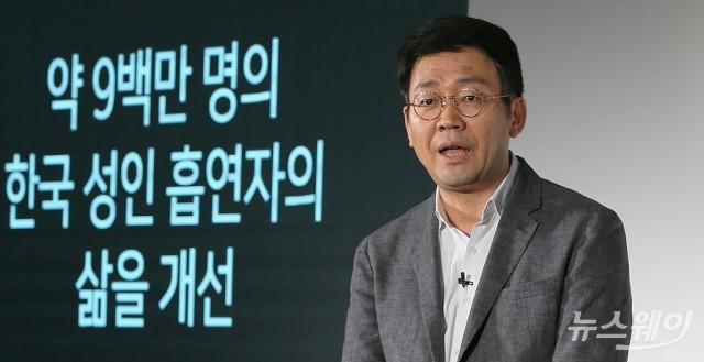 "[NW포토]이승재 쥴 코리아 대표 ""9백만명의 흡연자의 삶을 개선…"""