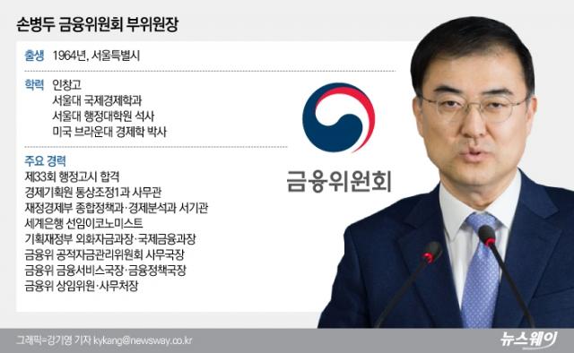 [He is]금융당국 살림꾼 된 '존경 받는 상사'···손병두 금융위 부위원장