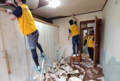 화성산업 자원봉사단, 사랑의 집수리 봉사활동