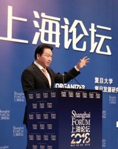 최태원 SK그룹 회장, 中 장쑤성 서기와 협력 논의
