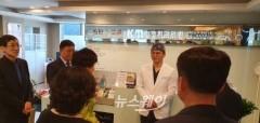 천안 KM성형외과, 시 우호도시 중국 문등구 관계자와 의료교류 환담