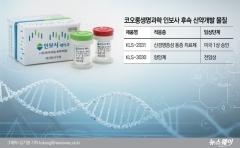 [인보사 퇴출]코오롱생명과학, 후속 신약개발 먹구름