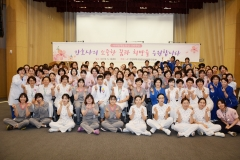 한림대동탄성심병원 간호부, 나이팅게일 탄신 199주년 기념행사