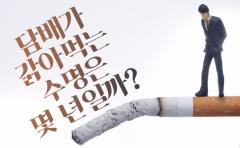 담배가 갉아먹는 수명은 몇 년일까?
