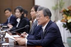 문 대통령 국정지지율 45.7%…3주 연속 하락