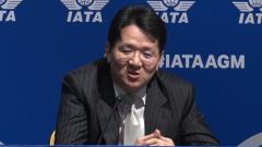 '新 항공리더' 조원태 회장…KCGI 방어에 자신감