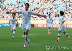 U-23 축구대표팀, 중국전에 엄원상-오세훈-이동경 '삼각편대'