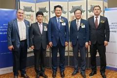하나금융, 러시아서 '동북아 초국경 경제협력 포럼' 개최