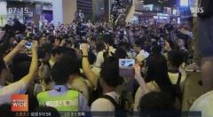 """홍콩 시민들 """"송환법 보류 아닌 철폐해라""""…'검은 대행진' 시작"""
