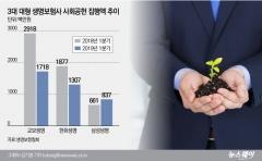 생보사 빅3, 실적악화에 사회공헌 줄였다…집행액 30% 축소