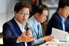 """염태영 수원시장 """"국토부·경기도는 버스 대토론회에 참여해 달라"""""""
