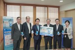 김광수 농협금융 회장, 혁신금융서비스 '온오프 해외여행보험' 가입