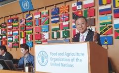 """황창규 KT 회장 """"ICT로 농업생상성 향상…가축전염병 확산 방지"""" 제안"""