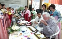 (사)규방다례보존회, 인천공항서 `한국 전통 차문화 체험' 프로그램 운영