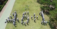 칠곡군 순심고 학생들, 천안함 추모 퍼포먼스 펼쳐