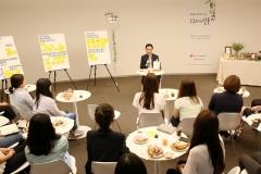 임병연 롯데케미칼 대표, 여성 인재들과 소통행보