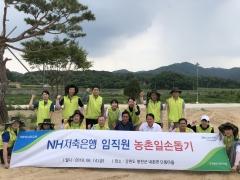 NH저축은행, 홍천 내촌초등학교와 '1사1교' 자매결연