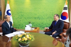 박준배 김제시장, 보리 과잉 생산에 따른 처리 농림축산식품부에 건의