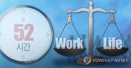 대기업 3곳 중 2곳, 근무시간관리제 도입