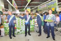 순창  매실, 서울 소비자들에게 인기