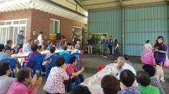 행복나누기 가족봉사단, 경로당 자원봉사