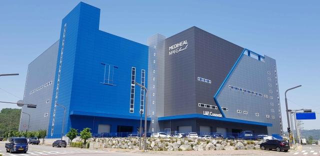 엘앤피코스메틱, 화성 물류센터 준공
