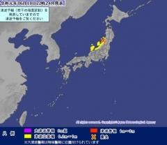 일본 아먀가타 현 인근 해상서 규모 6.8 지진 발생…니카타현에선 진도 6강 진도 감지