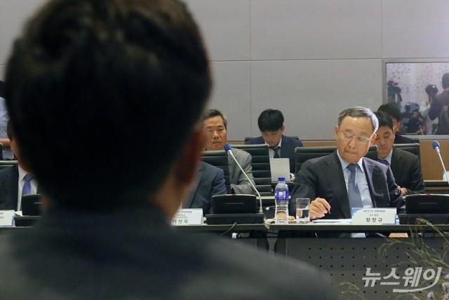 與 과방위원들, 청문회 위증 혐의로 황창규 KT 회장 고발