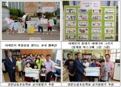 인천도시공사, '미세먼지 줄이기 아이디어 그리기 행사' 개최