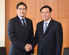 조현준 효성 회장, 베트남 부총리 만나 '전략적 관계' 확인(종합)