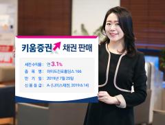 키움증권, 1개월 후 만기 하이트진로홀딩스 채권 특판