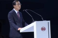 박한우 기아차 사장, 인도서  '셀토스' 공개