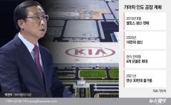 """인도 시장 첫발 기아차…박한우 사장 """"전기차 출시 고민"""""""