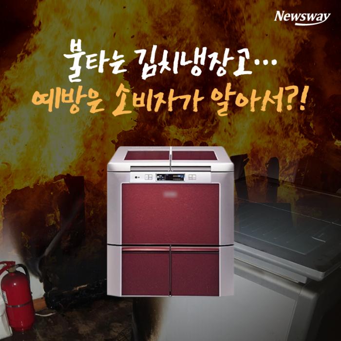 불타는 김치냉장고…예방은 소비자가 알아서?!