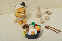 카카오프렌즈, '한국 전통 에디션' 6개 면세점서 출시