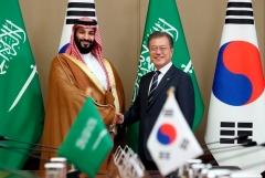 한-사우디, 10조원대 MOU…4대 그룹 '총수' 출동