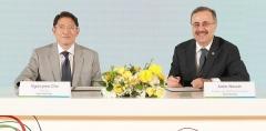 조현준 효성 회장,아람코와 '탄소섬유' 협력 강화(종합)