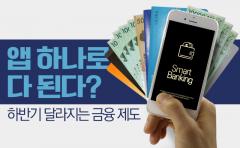 앱 하나로 다 된다? 하반기 달라지는 금융 제도