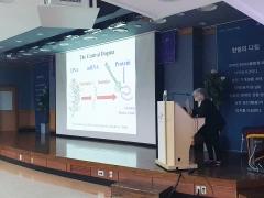 노벨상 수상자 아다 요나스 박사, 한림대의료원 특별강연
