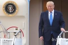 """트럼프 """"김정은에게서 아름다운 친서 받아…한미훈련 나도 좋아하지 않아"""""""