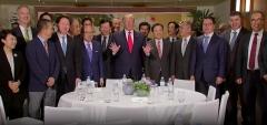 """트럼프 """"한국 대기업들 美투자에 적극 나서달라""""(종합)"""