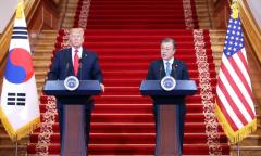 """'강한 자신감' 트럼프 """"오바마였으면 전쟁났다"""""""