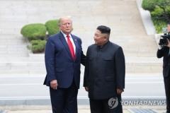 """트럼프 """"김정은과 좋은 관계…향후 상황 지켜보자"""""""