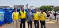 인천도시공사, 적수 피해 지역주민 돕기 생수배달 봉사활동